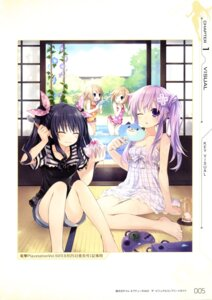 Rating: Safe Score: 43 Tags: choujigen_game_neptune choujigen_game_neptune_mk2 dress nepgear ram_(choujigen_game_neptune) rom_(choujigen_game_neptune) summer_dress swimsuits tsunako uni_(choujigen_game_neptune) User: donicila