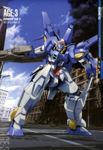 Rating: Safe Score: 10 Tags: gun gundam gundam_age mecha ootsuka_ken User: drop
