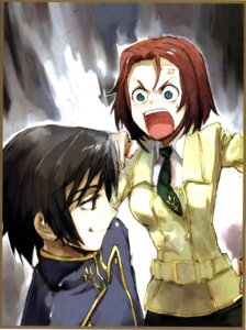 Rating: Safe Score: 5 Tags: code_geass kallen_stadtfeld lelouch_lamperouge seifuku toi8 User: Hitou