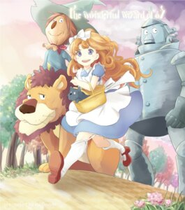 Rating: Safe Score: 21 Tags: cowardly_lion dorothy_gale dress hpflower scarecrow stockings the_wizard_of_oz thighhighs tin_man toto User: 椎名深夏