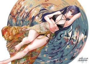 Rating: Safe Score: 5 Tags: bikini ghode_(basashi) love_live! sonoda_umi swimsuits User: Mr_GT