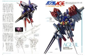 Rating: Safe Score: 7 Tags: ebikawa_kanetake gundam gundam_age mecha User: solidvanz