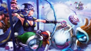Rating: Safe Score: 21 Tags: ashe braum cleavage fizz_(league_of_legends) gnar league_of_legends pointy_ears poro_(league_of_legends) sejuani tagme tristana_(league_of_legends) veigar veigar_(league_of_legends) wallpaper weapon User: fairyren