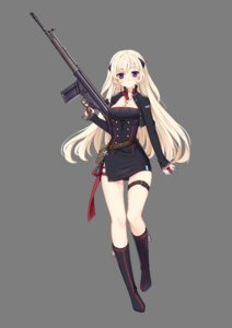 Rating: Safe Score: 50 Tags: cleavage g3_(girls_frontline) garter girls_frontline gun philomelalilium transparent_png uniform User: WtfCakes