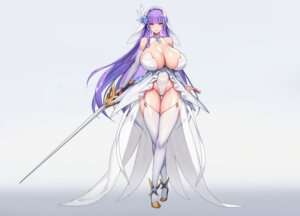 Rating: Questionable Score: 28 Tags: cameltoe heels kcccc leotard no_bra stockings sword thighhighs User: popcorn1239