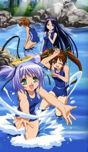 Rating: Safe Score: 14 Tags: bokusatsu_tenshi_dokuro-chan minagami_shizuki mitsukai_dokuro school_swimsuit swimsuits User: Radioactive