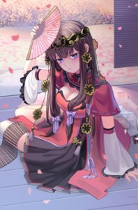 Rating: Safe Score: 37 Tags: asian_clothes cleavage romance_sangoku tagme thighhighs tojoy_game User: Mr_GT