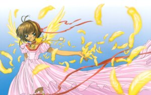 Rating: Safe Score: 3 Tags: card_captor_sakura dress kinomoto_sakura madhouse thighhighs wings User: Omgix