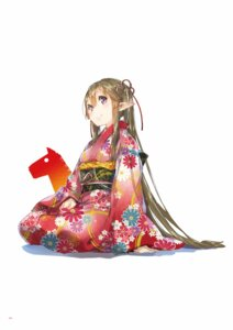 Rating: Safe Score: 34 Tags: digital_version kimono outbreak_company pointy_ears yuugen User: Twinsenzw