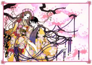 Rating: Safe Score: 8 Tags: clamp tsuyuri_kohane watanuki_kimihiro xxxholic User: Radioactive