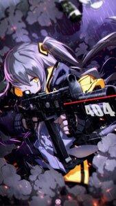 Rating: Safe Score: 24 Tags: girls_frontline gun mahousho ump45_(girls_frontline) User: Nepcoheart