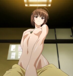 Rating: Questionable Score: 86 Tags: amatsume_akira cap naked nipples undressing yosuga_no_sora User: Paris_117