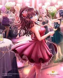 Rating: Safe Score: 30 Tags: akapii_(jun_0512) dress fishnets hayami_kanade heels ichinose_shiki jougasaki_mika miyamoto_frederica shiomi_shuuko the_idolm@ster the_idolm@ster_cinderella_girls User: BattlequeenYume