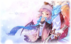 Rating: Safe Score: 33 Tags: fujiwara_no_mokou hong_(white_spider) mystia_lorelei touhou wings User: Mr_GT