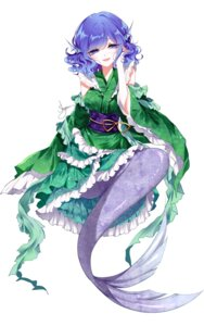Rating: Safe Score: 29 Tags: japanese_clothes mermaid monster_girl sheya tail touhou wakasagihime User: charunetra