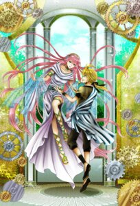 Rating: Safe Score: 7 Tags: dress kagamine_len megurine_luka vocaloid wool User: charunetra