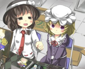 Rating: Safe Score: 7 Tags: gaoo_(frpjx283) maribel_han touhou usami_renko User: Minacle