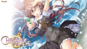 Rating: Safe Score: 54 Tags: chrono_clock gun jounouchi_makoto koku purple_software seifuku wallpaper wet User: 櫻井浩美