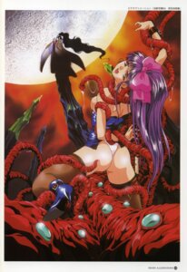 Rating: Explicit Score: 21 Tags: ass la_blue_girl midou_miko no_bra pantsu rin_sin tentacles User: Wraith