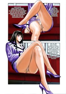 Rating: Questionable Score: 6 Tags: business_suit g-taste pantsu pantyhose takaoka_youko yagami_hiroki User: MDGeist