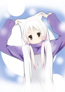 Rating: Safe Score: 8 Tags: animal_ears nekomimi yuyui User: Manabi