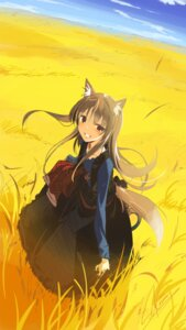 Rating: Safe Score: 24 Tags: animal_ears holo seu_kaname spice_and_wolf tail User: Mr_GT