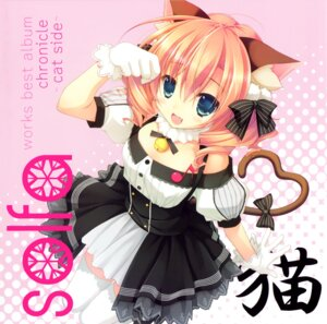 Rating: Safe Score: 79 Tags: animal_ears chikotam disc_cover nekomimi tail thighhighs User: Anonymous