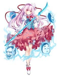 Rating: Safe Score: 34 Tags: hata_no_kokoro kisaragi_yuri touhou weapon User: RyuZU
