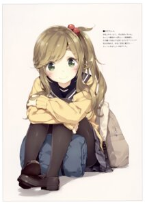 Rating: Safe Score: 56 Tags: inuyama_aoi luminocity pantyhose peco seifuku sweater yurucamp User: kiyoe