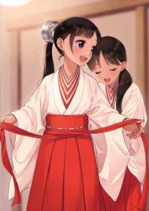 Rating: Safe Score: 45 Tags: canvas_(morikura_en) miko morikura_en User: Twinsenzw