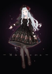 Rating: Safe Score: 37 Tags: dress gothic_lolita horns lolita_fashion pantyhose yuzhi User: Mr_GT