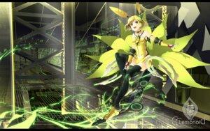 Rating: Safe Score: 29 Tags: c.c._lemon c.c._lemon_(character) thighhighs wallpaper yoshino_ryou User: fairyren