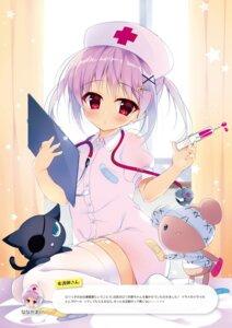Rating: Safe Score: 24 Tags: bandaid eyepatch nanaca_mai nurse stockings thighhighs User: kiyoe