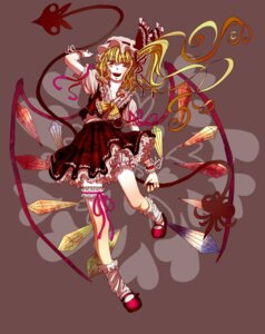 Rating: Safe Score: 4 Tags: flandre_scarlet maki_(huran) touhou wings User: charunetra