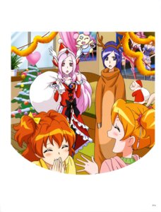 Rating: Safe Score: 3 Tags: christmas dress fresh_pretty_cure! horns pantyhose pretty_cure User: drop