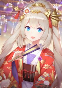 Rating: Safe Score: 48 Tags: fate/grand_order kimono marie_antoinette_(fate/grand_order) oo92248226 User: Dreista