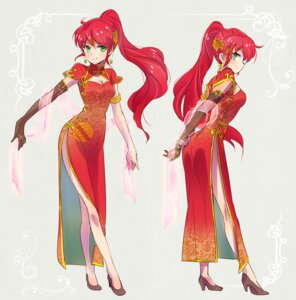 Rating: Safe Score: 36 Tags: chinadress cleavage heels iesupa pyrrha_nikos rwby User: saemonnokami