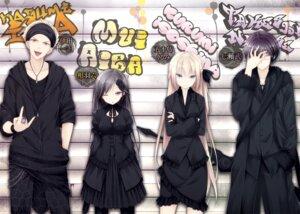 Rating: Safe Score: 13 Tags: aiba_mui dress ida_kazumi isoshima_kurumi luna_lia mahou_sensou nanase_takeshi sword User: kiyoe
