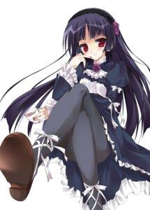 Rating: Safe Score: 82 Tags: gokou_ruri gothic_lolita karory lolita_fashion ore_no_imouto_ga_konnani_kawaii_wake_ga_nai pantyhose User: Share