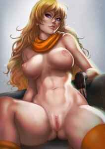 Rating: Explicit Score: 62 Tags: dandon_fuga naked nipples pussy rwby signed thighhighs uncensored yang_xiao_long User: Radioactive