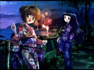 Rating: Safe Score: 20 Tags: card_captor_sakura daidouji_tomoyo kinomoto_sakura moonknives wallpaper yukata User: blooregardo