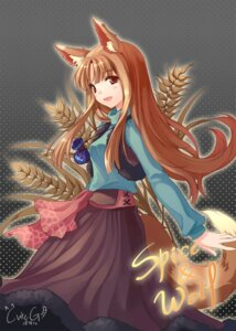 Rating: Safe Score: 32 Tags: animal_ears cuteg holo spice_and_wolf User: Syko83