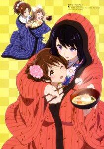 Rating: Safe Score: 65 Tags: hibike!_euphonium kimono kousaka_reina kuriki_ami nakagawa_natsuki oumae_kumiko yoshikawa_yuuko yuri User: drop