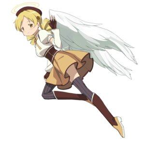 Rating: Safe Score: 6 Tags: a1 initial-g puella_magi_madoka_magica thighhighs tomoe_mami wings User: Radioactive