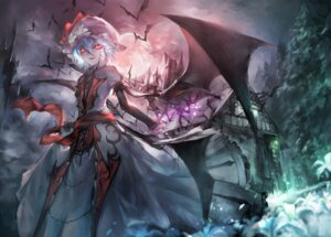 Rating: Safe Score: 45 Tags: avamone dress remilia_scarlet touhou wings User: Mr_GT
