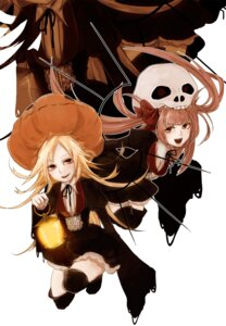Rating: Safe Score: 9 Tags: halloween memai thighhighs User: hobbito