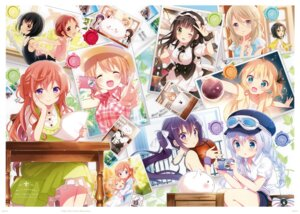 Rating: Safe Score: 9 Tags: gochuumon_wa_usagi_desu_ka? koi possible_duplicate User: kiyoe