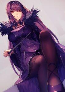 Rating: Safe Score: 98 Tags: dress fate/grand_order kyouya_(mukuro238) pantyhose scathach_skadi weapon User: BattlequeenYume