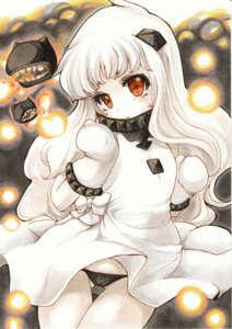 Rating: Safe Score: 26 Tags: dress kantai_collection northern_ocean_hime pantsu watercolor yurun User: Mr_GT