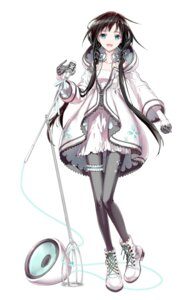 Rating: Safe Score: 52 Tags: dress garter headphones izumito pantyhose vocaloid xia_yu_yao User: 麻里子